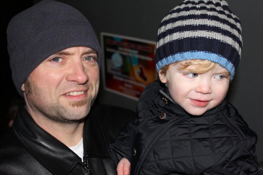 James & Haden, Winter 2012
